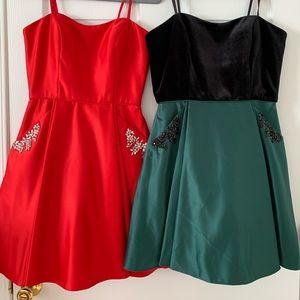 NWT Blondie nite mini strapless dress